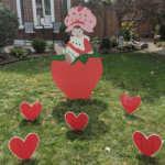 STRAWBERRY SHORTCAKE LAWN SIGN